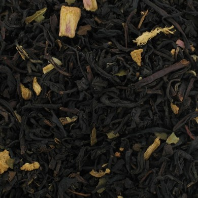 Thé noir de Chine rhubarbe mûre