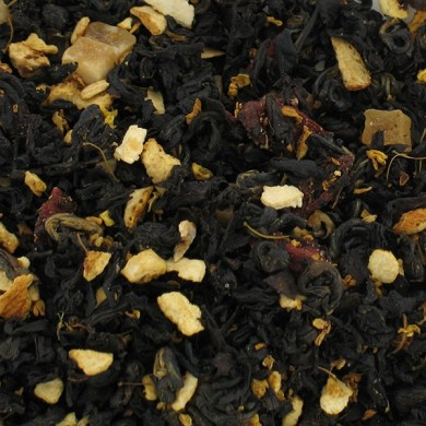 Thé noir de Chine orange papaye goji açai