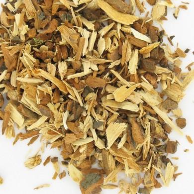 Organic herbal tea hawthorn