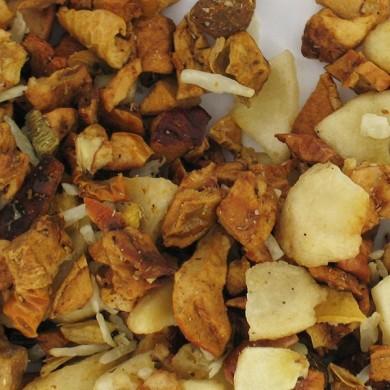So cinnamon almond fruit infusion