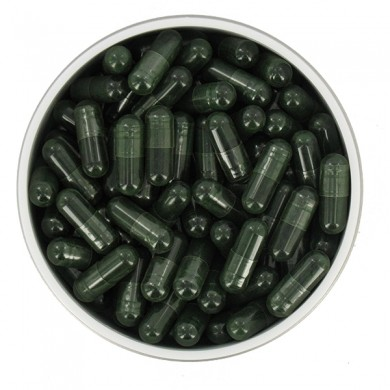 SPIRULINE  (algue, Spirulina maxima) 100 gelules