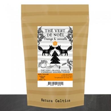 Thé vert de NOEL orange cannelle