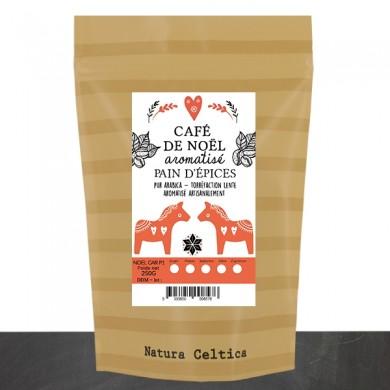 gingerbread flavored coffee grain