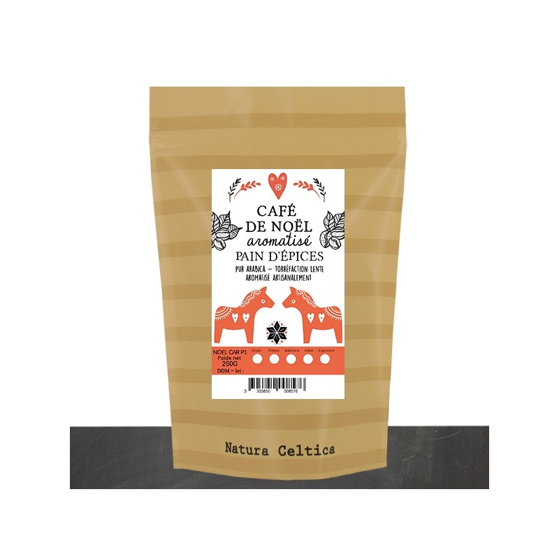 café de NOEL moulu saveur pain d'épices