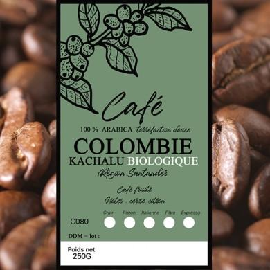 Café Colombie BIO, grain