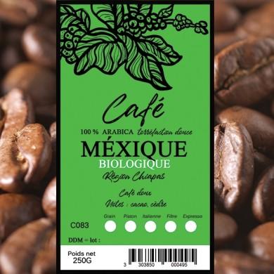 Café Mexique Bio, grain