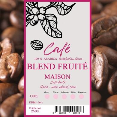 Café Maison fruité, grain
