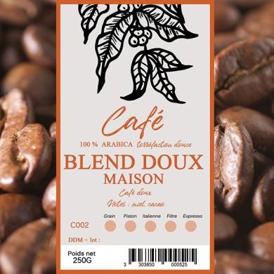 Café Maison doux, grain