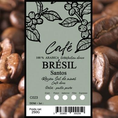 Café Santos, grain