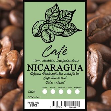 Café Nicaragua efico, grain