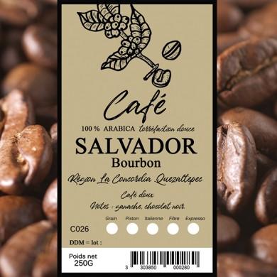 Café Salvador pacarama, grain