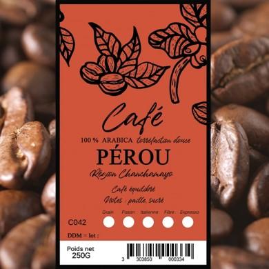 Café Pérou la Montana, grain
