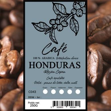 Café Honduras SHG, grain