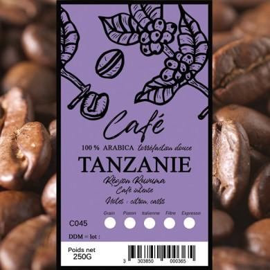 Café Tanzanie grain