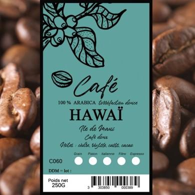 Café Hawaii, grain