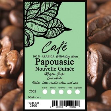 Café Papouasie nouvelle Guinée grain