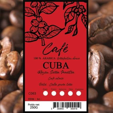 Café Cuba grain