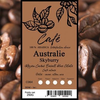 Café Australie Skybury grain
