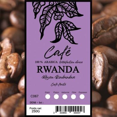 Organic coffee beans columbia