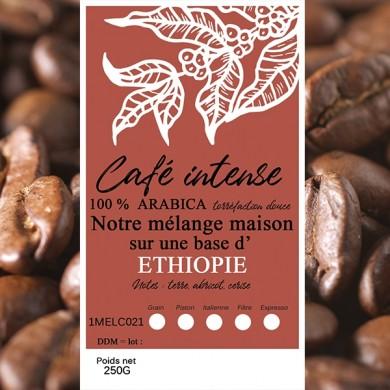 mélange café intense sidamo grain