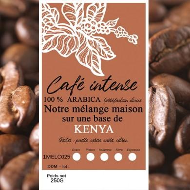 mélange café intense kenya grain