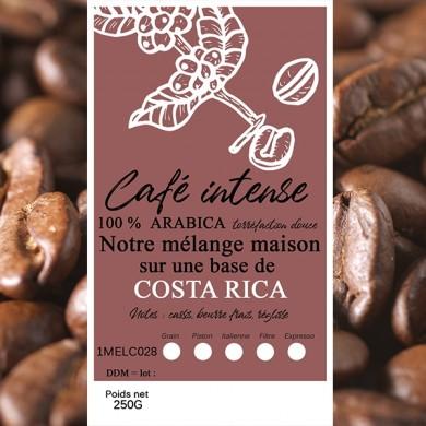 mélange café intense costa rica grain
