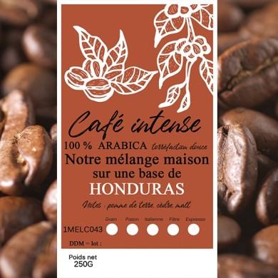 mélange café intense honduras