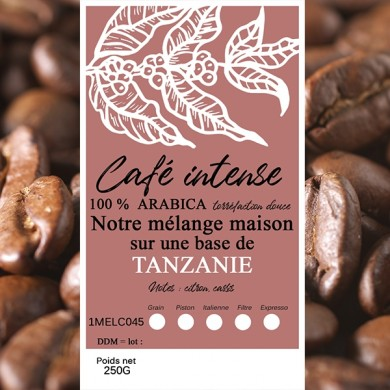 mélange café intense tanzanie