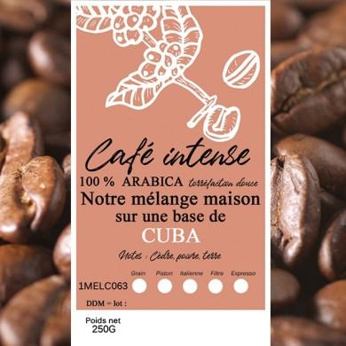 mélange café intense caraibes