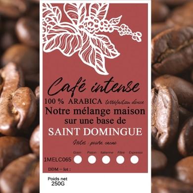 mélange café intense st domingue