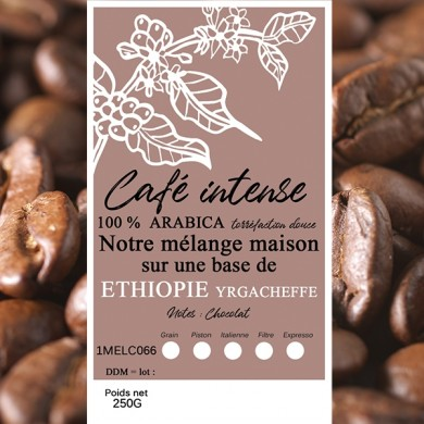 mélange café intense moka