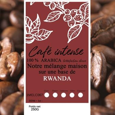 mélange café intense rwanda