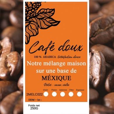 Café Mexique altura