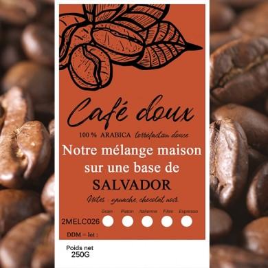 mélange café délicat salvador