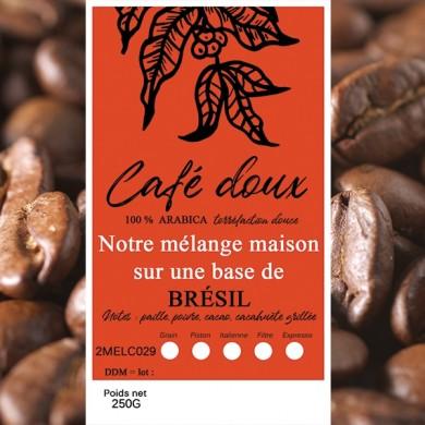 mélange café délicat brésil bahia