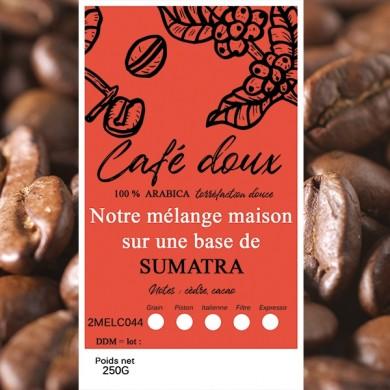 mélange café délicat sumatra