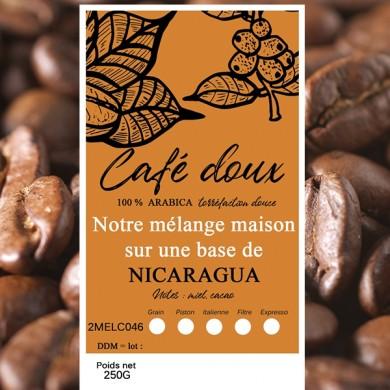 mélange café délicat maragogype