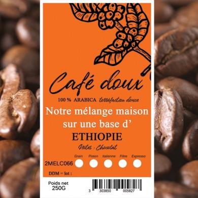 mélange café délicat moka homa