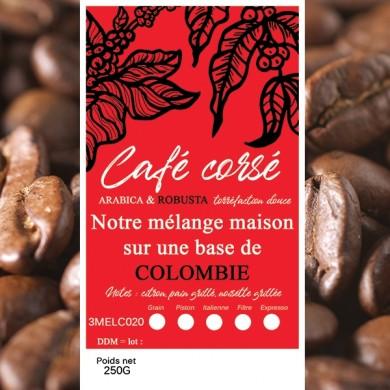 mélange café corsé colombie + robusta
