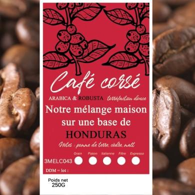 mélange café corsé honduras + robusta