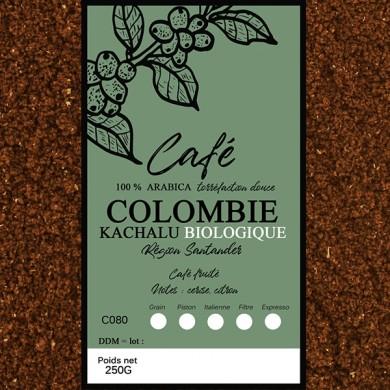 Café Colombie BIO moulu