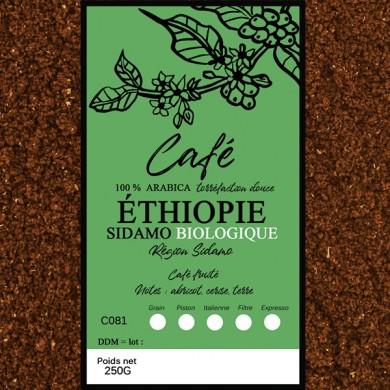 Café Sidamo BIO moulu