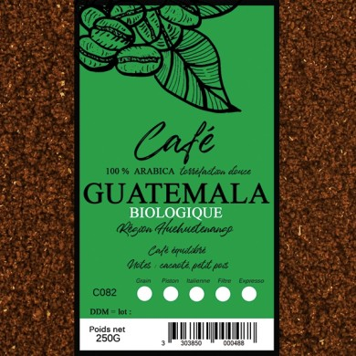 Café Guatemala Bio, moulu