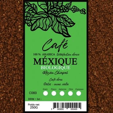 Café Mexique Bio moulu