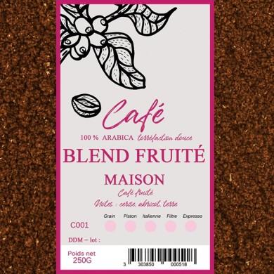 Café Maison fruité, moulu