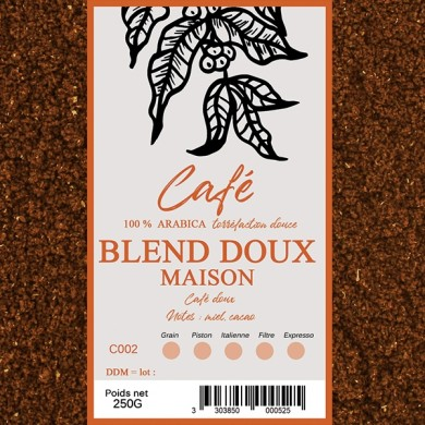 Café Maison doux, moulu
