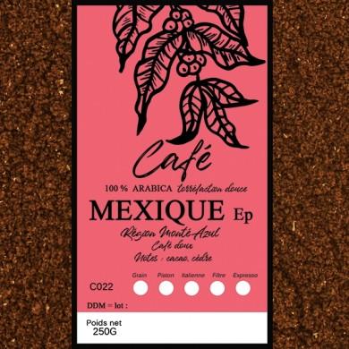 Café Mexique altura, moulu