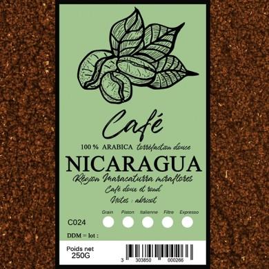 Café Nicaragua efico,moulu