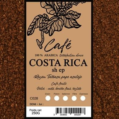 Café Costa, moulu
