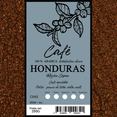 Café Honduras SHG moulu